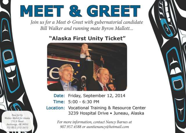 Walker Mallott THCC Meet and Greet 9-12-14
