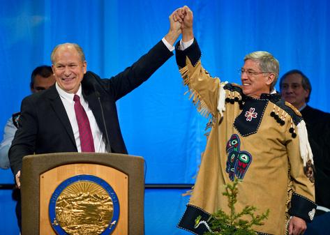 Walker Mallott inauguration pic 12-1-14