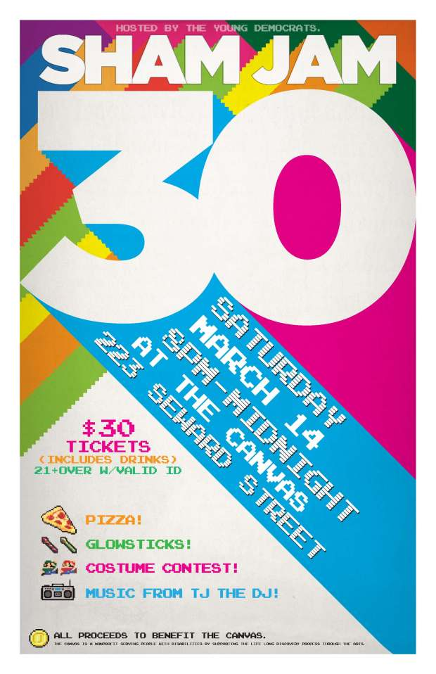 Sham Jam 30 Poster 1 3-14-15